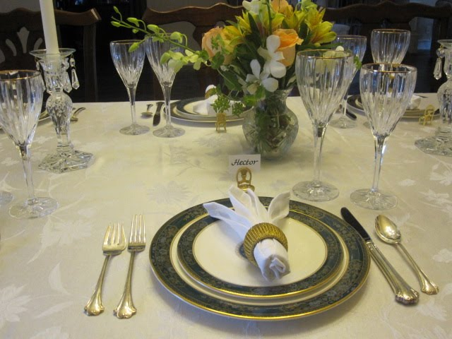 Creative Hospitality: How to Set a Formal Dinner Table