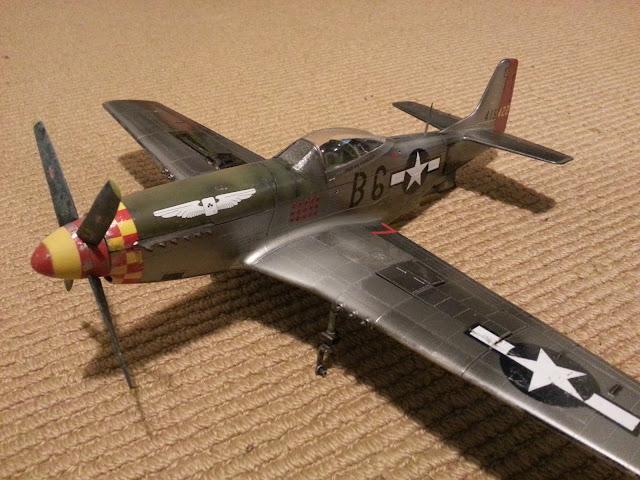 1/32 Hasegawa Mustang