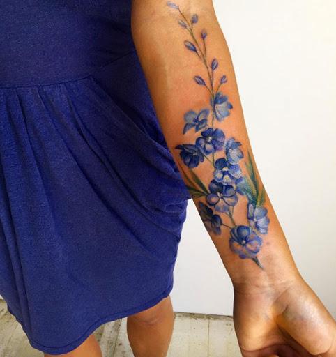 Estes bluebonnet flores