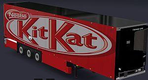 KittKat skin for Refrigerated Trailer