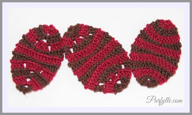 3 Easter Egg Crochet Patterns