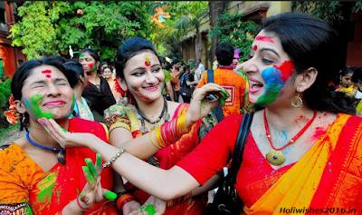 Happy Holi 2016 Quotes in Bengali