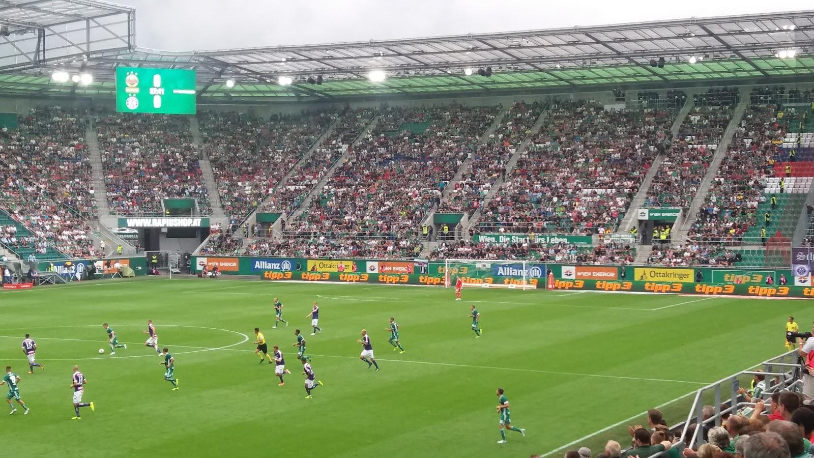 Damage In The Box Sk Rapid Wien Allianz Stadion