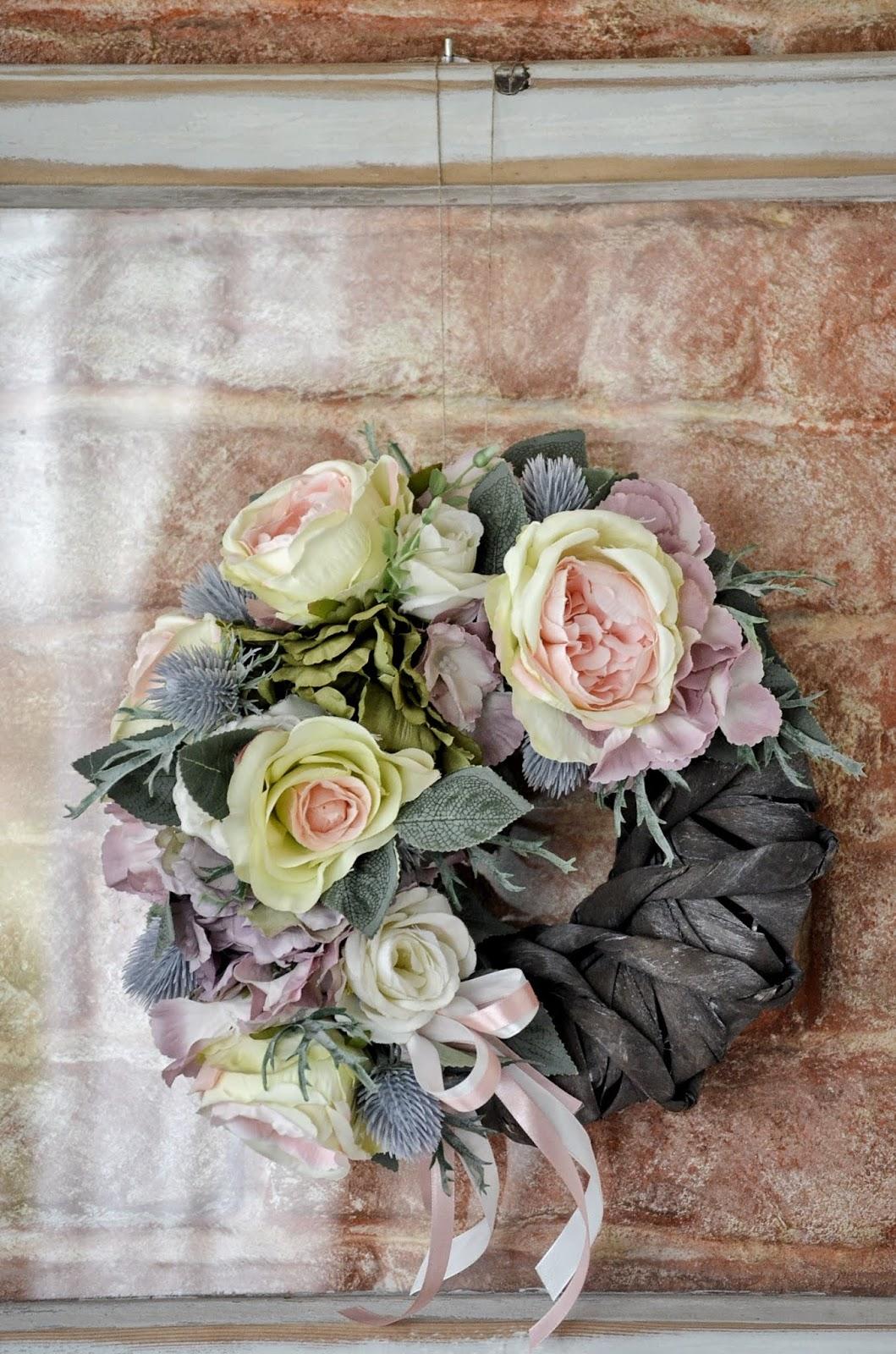Pracownia Aj Drobisz Vintage Home Wianek Kwiatowy