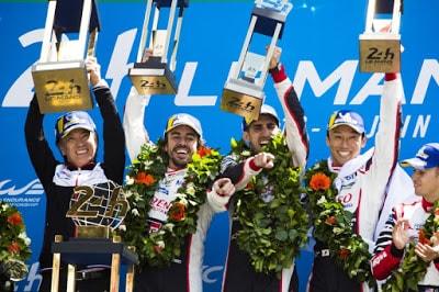 Alonso, Buemi, Nakajima