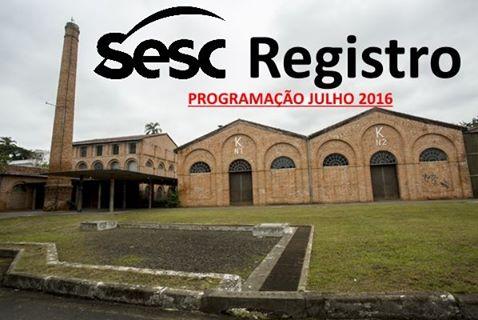 VALE DO RIBEIRA PASSA A TER ACESSO ÀS ATIVIDADES DO SESC A PARTIR  23/07