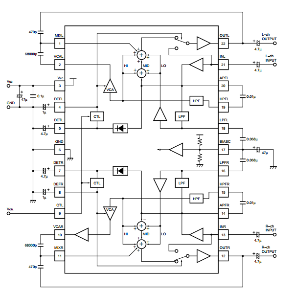 High-definition sound processor ~ AmplifierCircuits.com