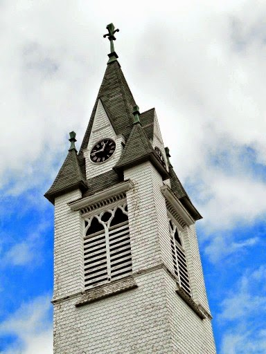 Lovely Church Steeple in downtown Antrim NH