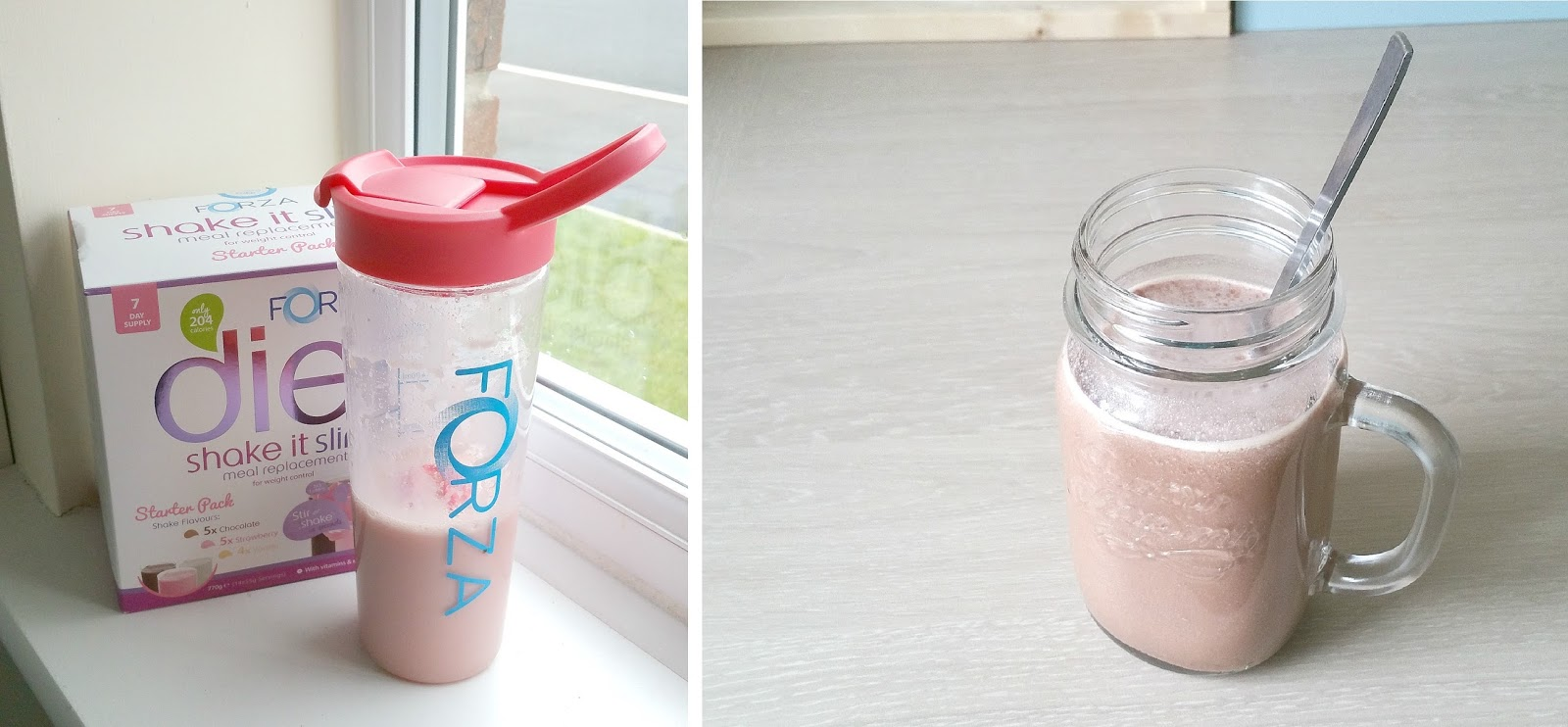 Forza Raspberry K2, Forza Shake it Slim, Diet suppliments