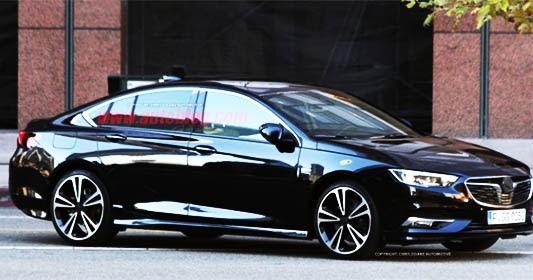 Burlappcar: 2017 Opel Insignia/2018 Buick Regal
