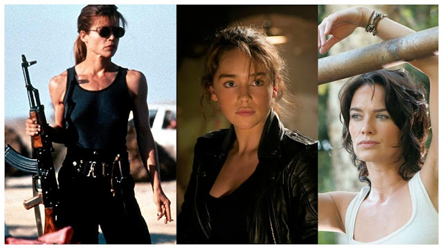 Sarah Connor Terminator Saga