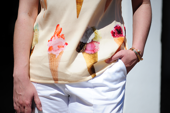 Dolce&Gabbana, gelato, icecream, Valentino, Burdy style, DIY, nähen, sewing, Chloe