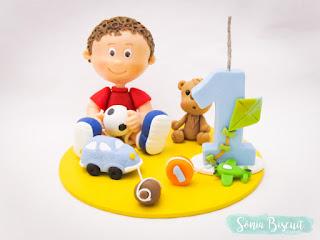 Topo de Bolo Biscuit Brinquedos