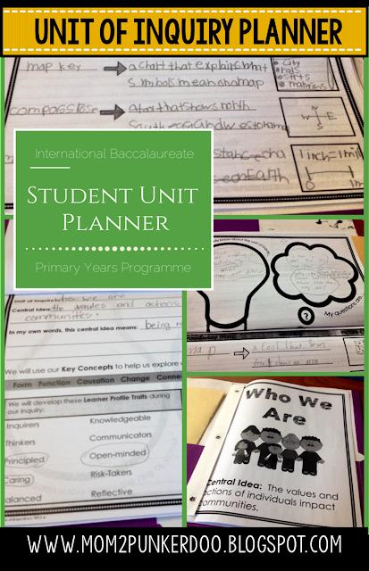 IB Student Unit Planner