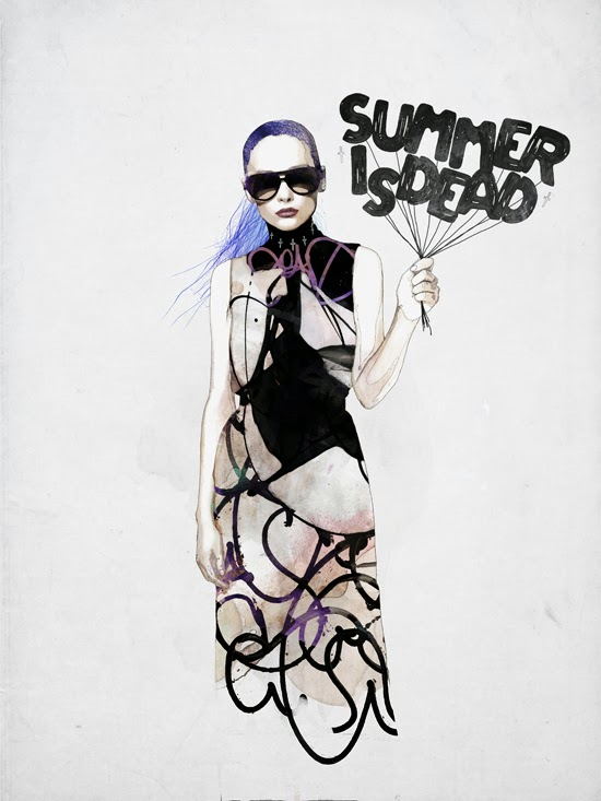 Raphael Vicenzi. Ilustración 2013. Summer is dead