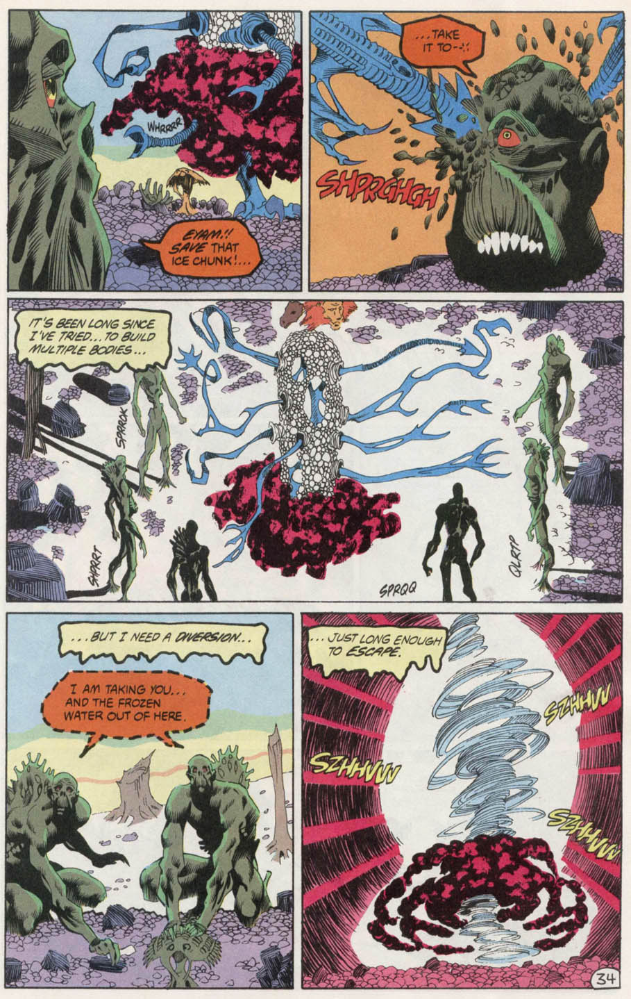 Swamp Thing (1982) Issue #100 #108 - English 33