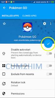 Tutorial Dual Akun Pokemon Go Tanpa Log Out (No Root)