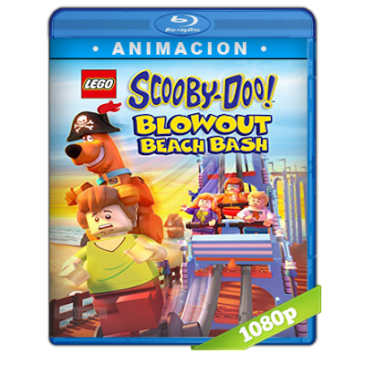 Lego Scooby-Doo Reventon En La Playa (2017) BRRip Full 1080p Audio Trial Latino-Castellano-Ingles 5.1
