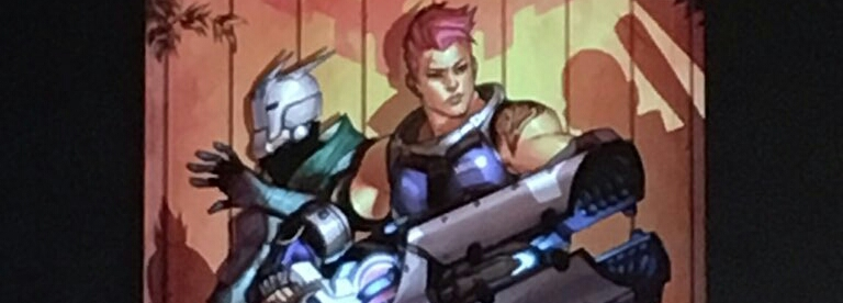 Zarya And Sombra Getting Own 'Overwatch' Comic Series.