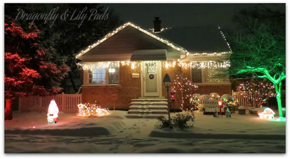 Our Home, Christmas, Snow, Decoration