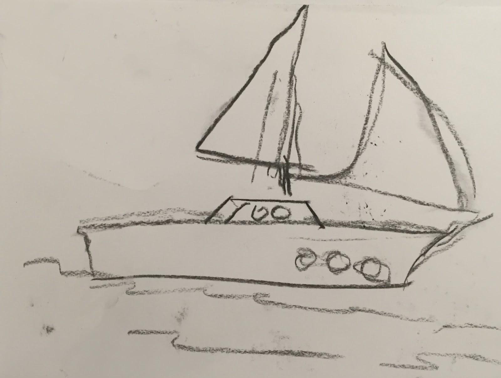 Doodlebug Dabblings Drawing Boats And Learning