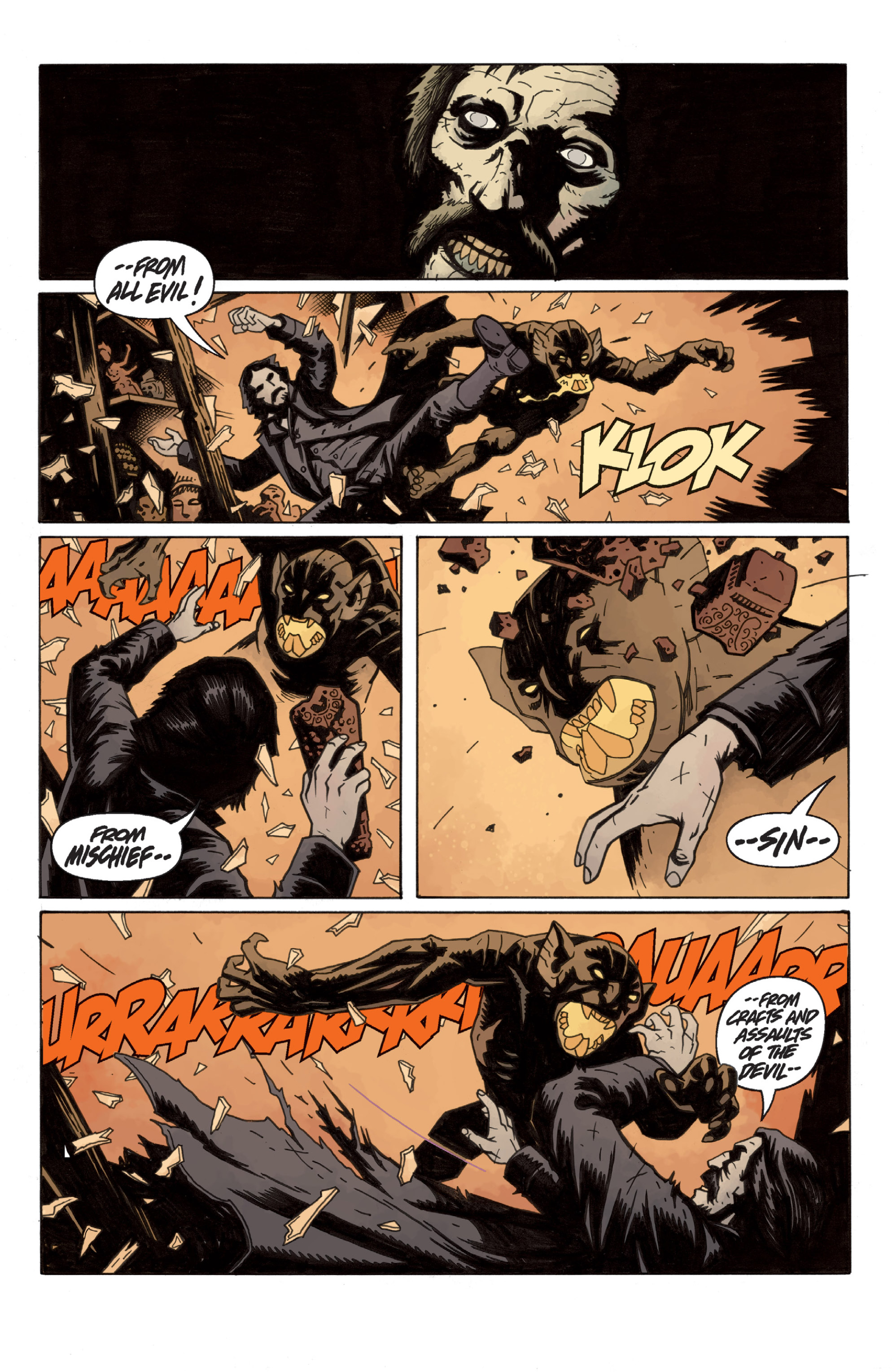 Read online Sir Edward Grey, Witchfinder: In the Service of Angels comic -  Issue # TPB - 18