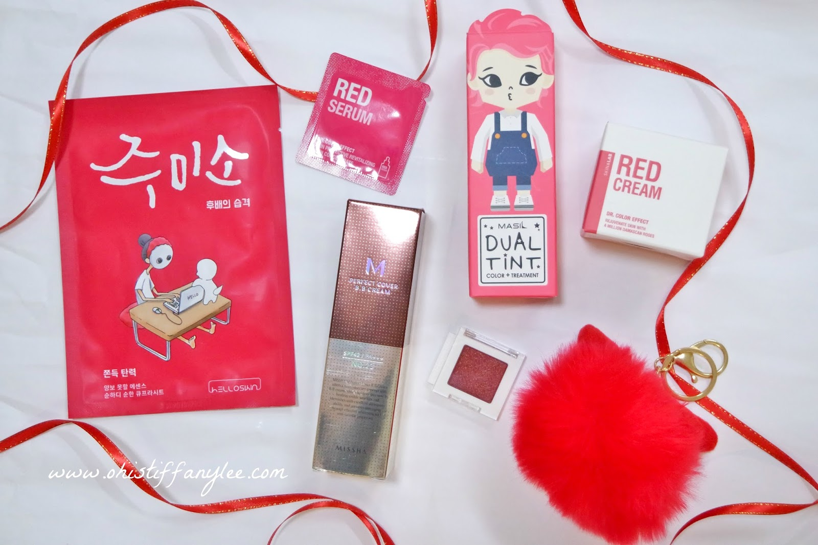 OhisTiffanyLee com: Review | Althea Korea Holiday Edition Red