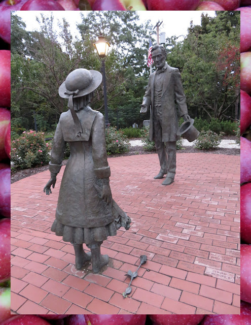 Things to do in Westfield, New York: Abe Lincoln and Grace Bedell