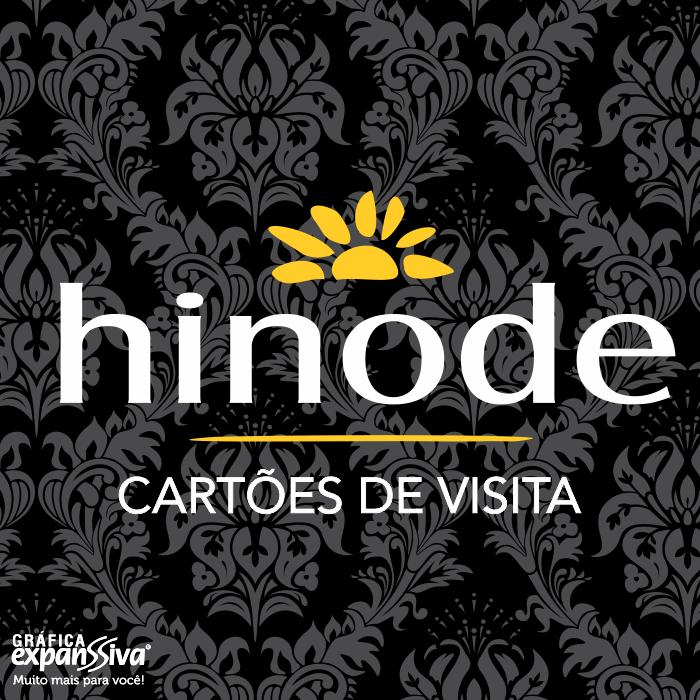 cartoes de visita hinode - Cartões de Visita Hinode