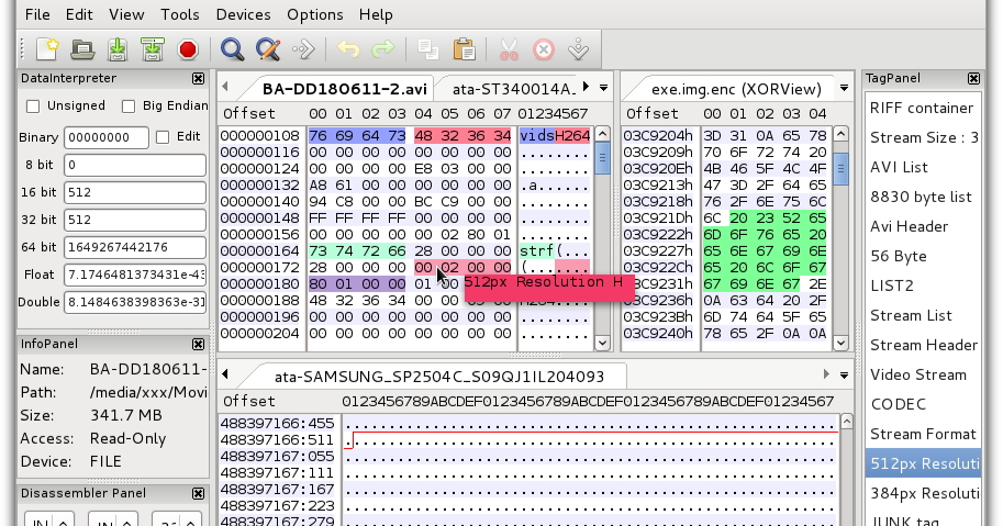 wxHexEditor -- 跨平臺的十六進位編輯器 - G. T. Wang