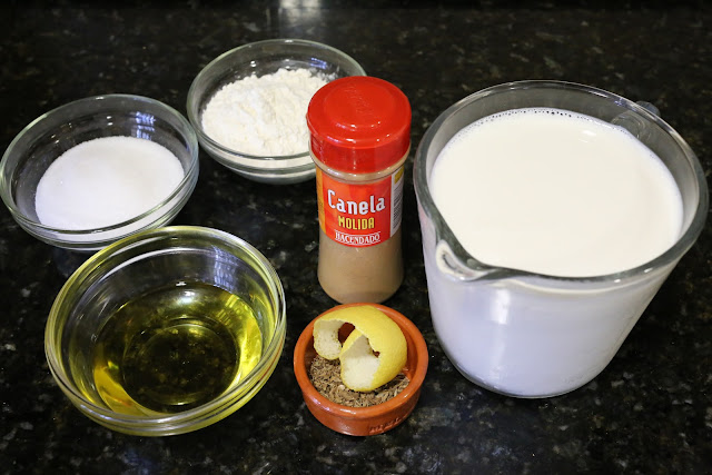 Ingredientes para poleá