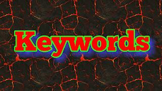 Seo keywords Google planner
