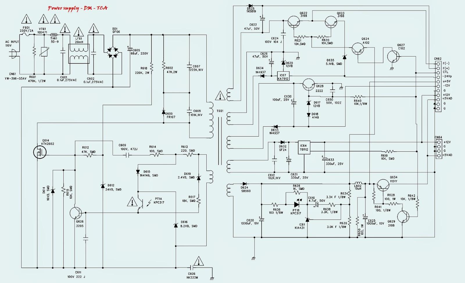 dvd player circuit diagram