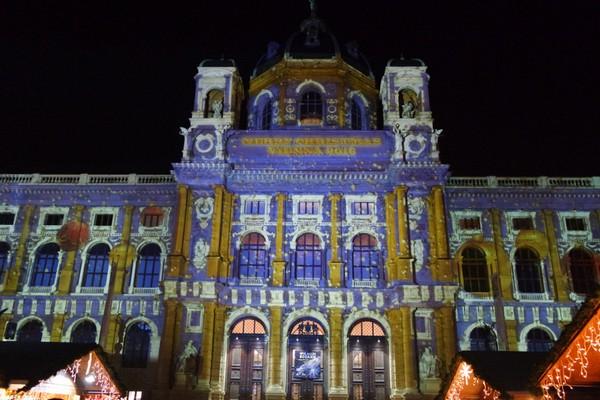 vienne vienna marché Noël weihnachtsmarkt Naturhistorisches Museum musée histoire naturelle