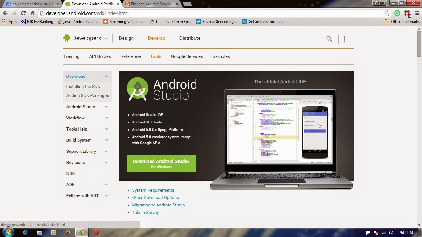 Android Develop Unit: Install & Configure Android Studio