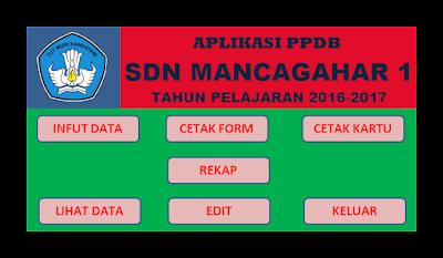 Aplikasi PPDB (Penerimaan Peserta Didik Baru) Tahun 2016