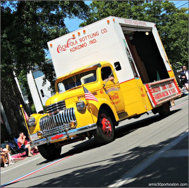 Coca Cola Desfile 4 de Julio Bristol