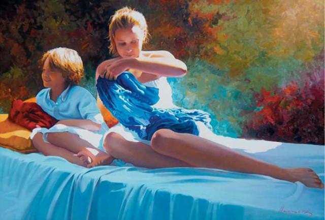 Реалистичные картины. Jose Higuera 7