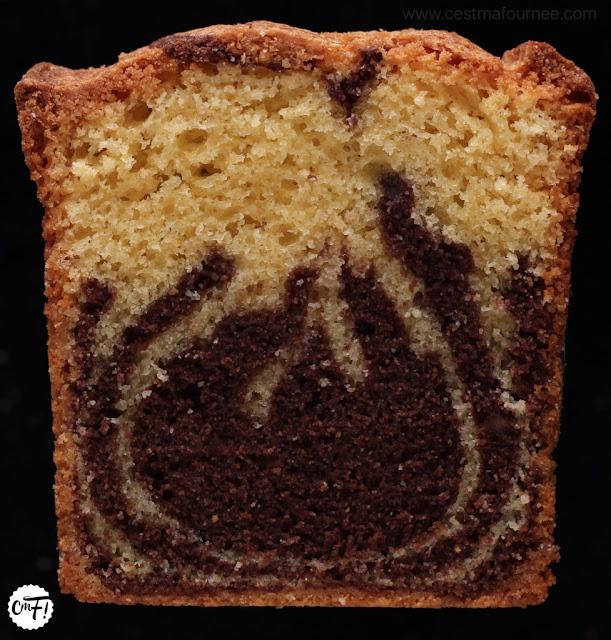 L'étonnant cake marbré de l'école Valrhona