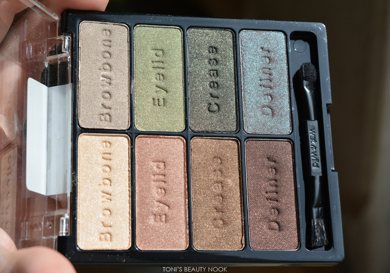 wet n wild comfort zone eyeshadow palette E738