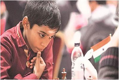 Praggnanandhaa Rameshbabu INDIAN CHESE LITTLE GRANDMASTER
