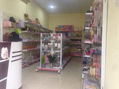 Tư vấn và settup giá kệ siêu thị cho cửa hàng văn phòng phẩm