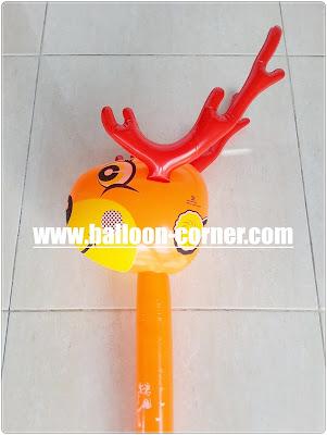Mainan Tiup Tongkat Kepala Rusa