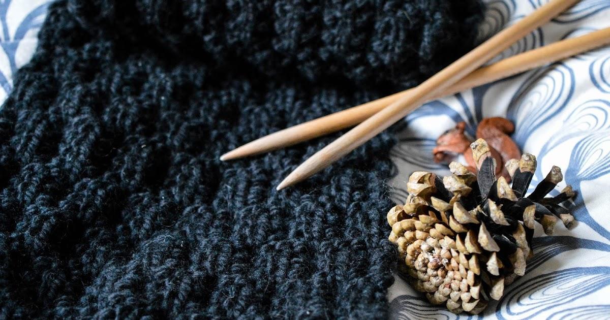 code promo détails pour procédés de teinture minutieux Tuto tricot ♥ L'écharpe au point de gaufre — My Name Is Georges