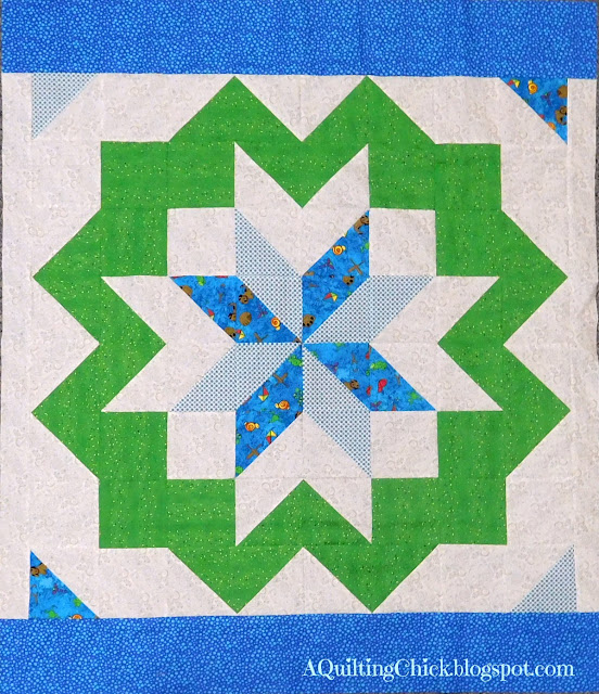 Star Surround - A Quilting Chick