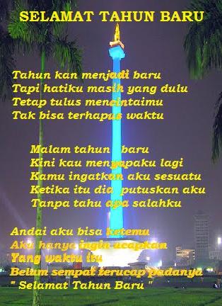 Puisi Menyambut Tahun Baru