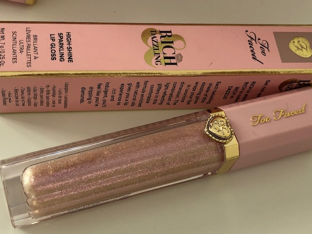 Too Faced Pretty  Rich & Dazzling High Shine Sparkle Lip Gloss