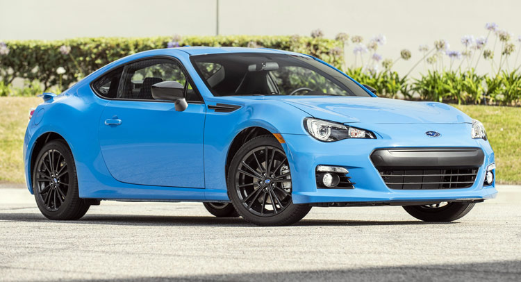 subaru puts a price tag on new brz wrx sti hyperblue limited editions. Black Bedroom Furniture Sets. Home Design Ideas