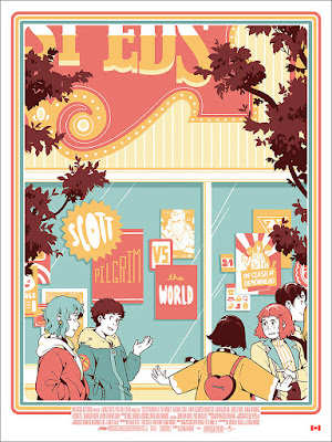 Scott Pilgrim vs The World Screen Print by Rosemary Valero-O'Connell x Mondo