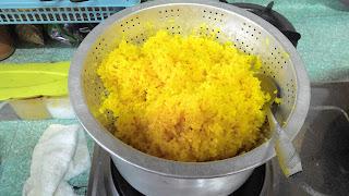 Resepi Nasi Kunyit
